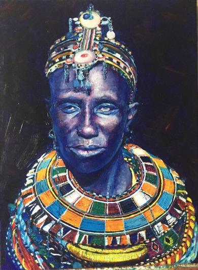 ShamanYaki. oil on canvas. 40x50. availible