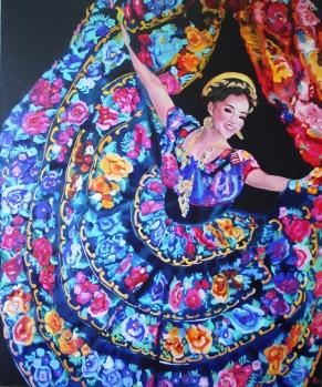 RITA.2015.Oil on canvas. 120-100 cm.